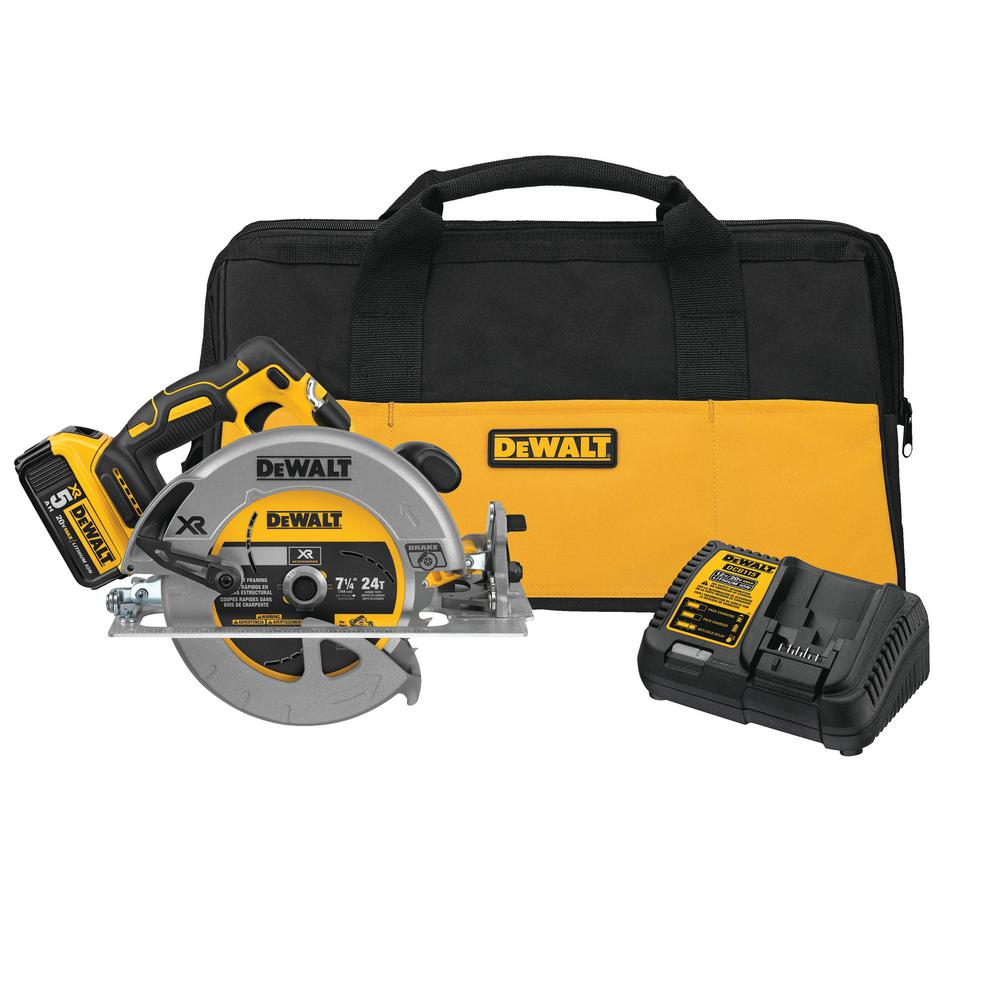 DCS570P1 20V CIRCULAR SAW KIT