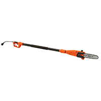 Black & Decker PP610 Corded Pole Saw, 120 V, 6.5 A, 10 in