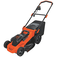 Black & Decker MM2000 Corded Electric Mower, 12 A, 19 in W x 1-1/2 - 4 H Cutting