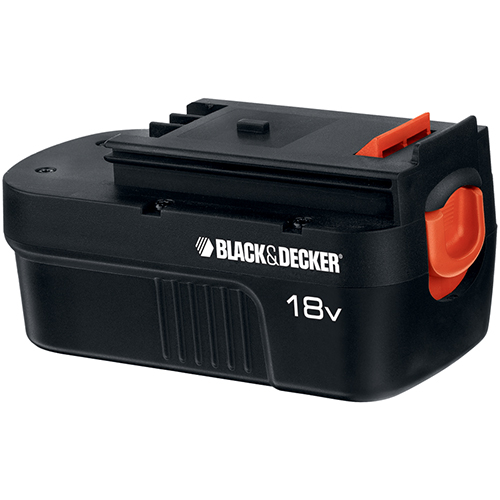 Black & Decker 18 V Spring Loaded Slide Pack Battery