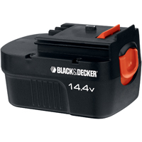 Black & Decker HPB14 Spring Loaded Slide Battery Pack, 14.4 V, NiCd