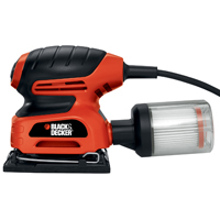 Black & Decker QS900 Multi-Purpose Short Detail Corded Sander, 2 A, 16000 rpm