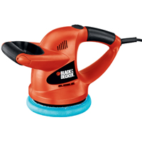 Black & Decker WP900 Multi-Purpose Random Orbit Corded Waxer/Polisher, 0.5 A, 4400 rpm