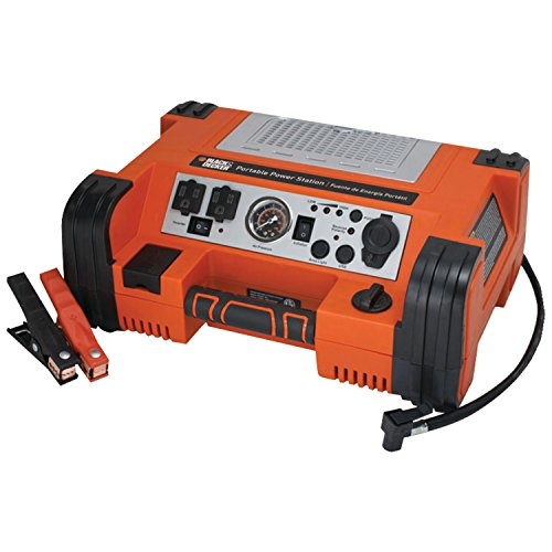 BLACK+DECKER PPRH5B Professional Power Station with 120psi Air Compressor