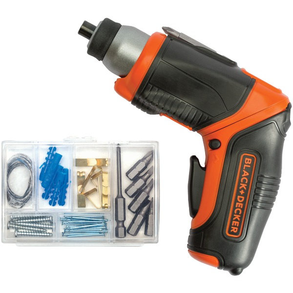 BLACK+DECKER BDCS40BI 4-Volt MAX* Lithium Pivot Screwdriver