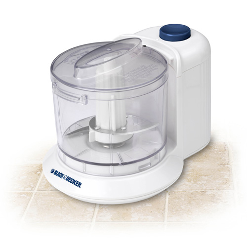 B&D HC306 WHITE CHOPPER MINCER 1.5CUP ELECTRIC 70W