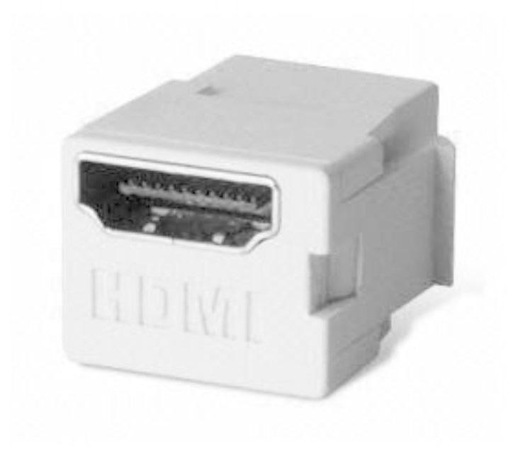 BT-220 WH HDMI KEYSTONE JACK