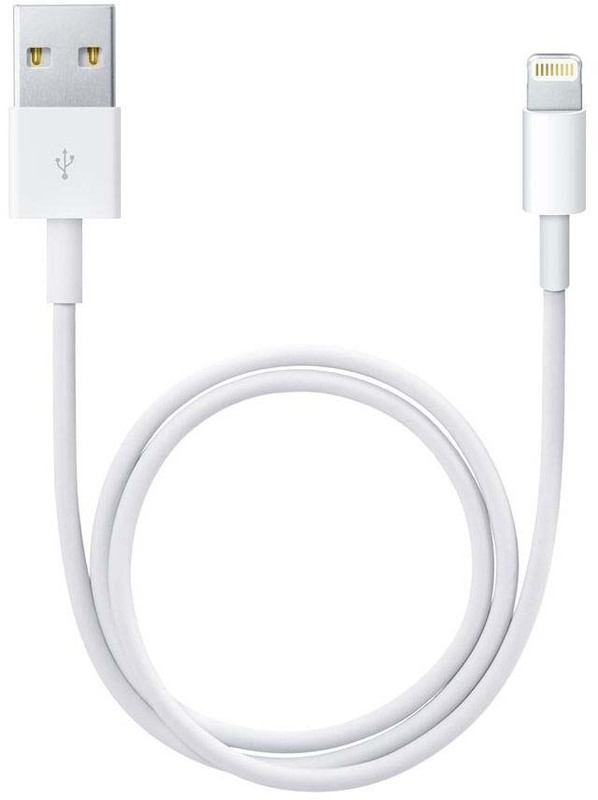 BC-099 WHITE 6 FT. USB CHARGER