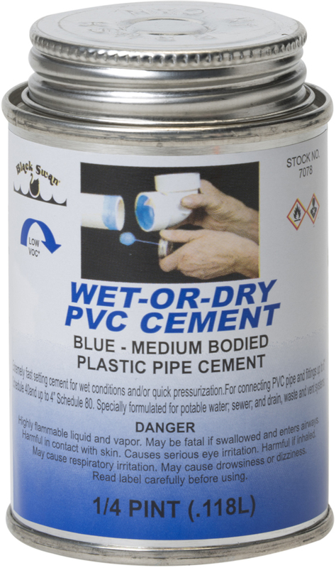 07078 4 OZ WETDRY BLUE CEMENT