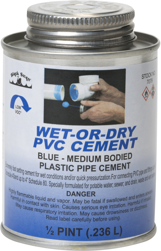 07079 8 OZ WETDRY BLUE CEMENT