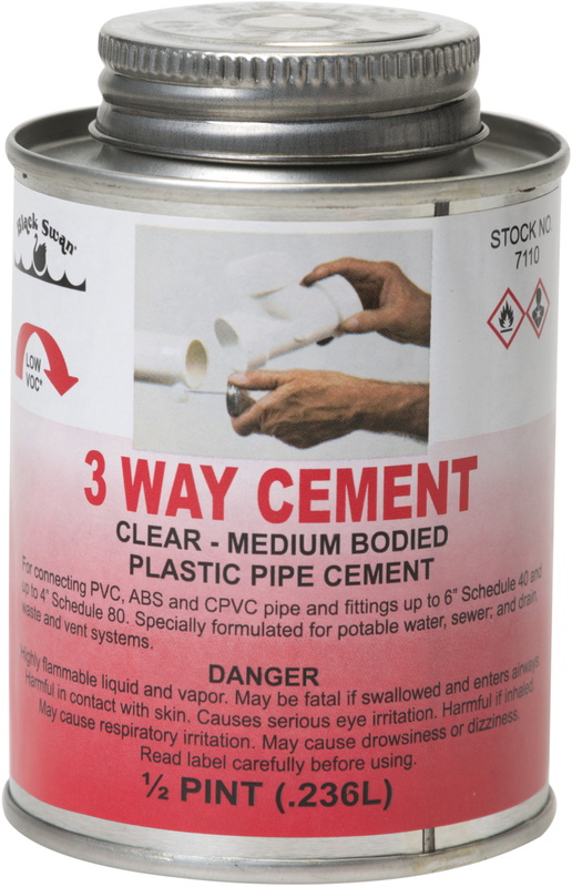 07110 8 OZ 3-WAY MED CEMENT