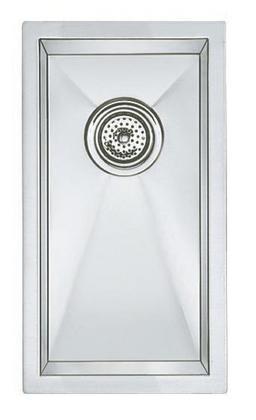 11 X 20 18 gauge Undercounter Sink Blanco Precision Stainless Steel