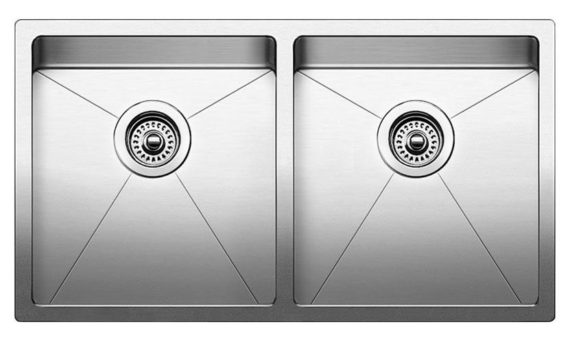 32 X 18 18 Gauge Undercounter Double Bowl Sink