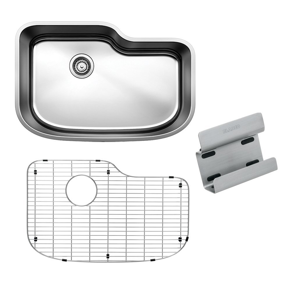30 X 20 0 Hole Single Band Stainless Steel Undercounter Kitchen SINK *BLAONE