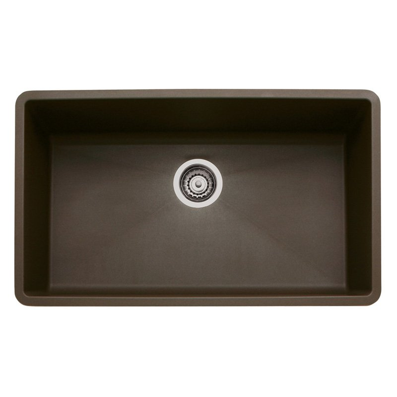 32 X 19 Single Band SUPER SINK Blanco Precision Anthracite