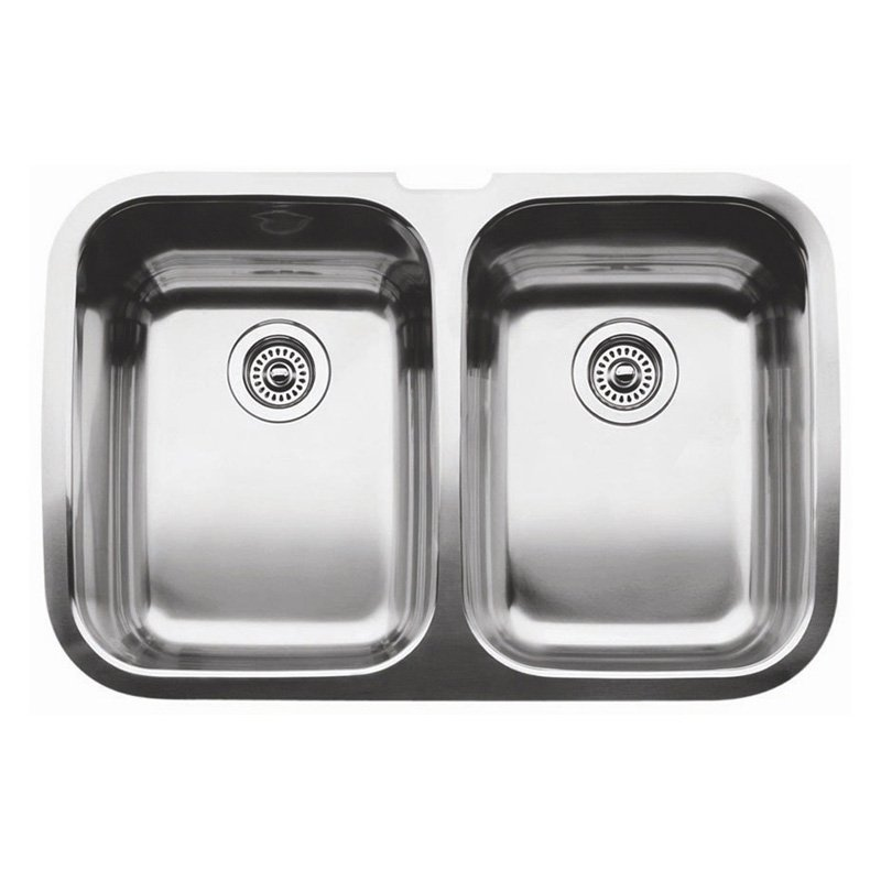 31 X 18 Double Bowl Undercounter Stainless Steel Sink