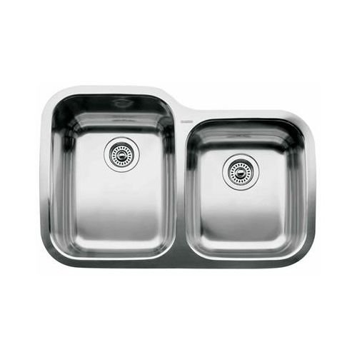 1-3/4 Bowl Undercounter Stainless Steel Sink Supreme