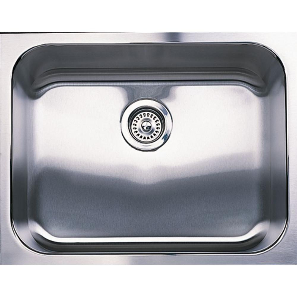 23 X 18 Single Band Undercounter Stainless Steel SINK Blancospex