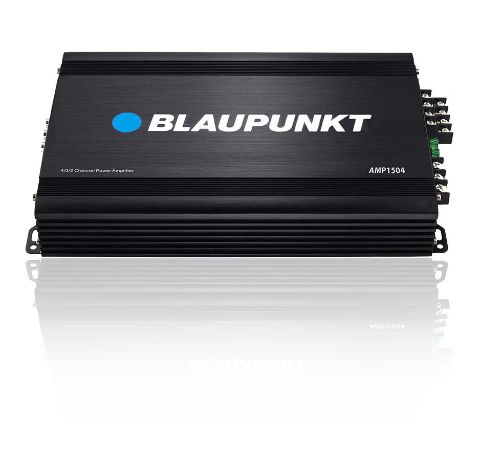 Blaupunkt Amplifier 1500 Watts Max 4 Channel