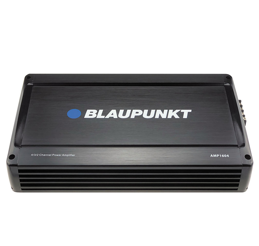 Blaupunkt 1600 Watt 4-Channel Amplifier