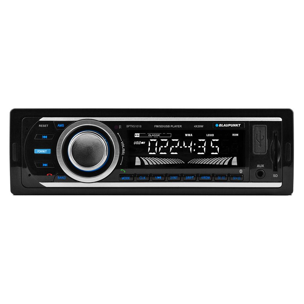 Blaupunkt Tennessee Single-Din Mechless Bluetooth Receiver