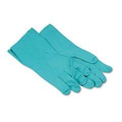 Nitrile Flock-Lined Gloves, Extra-Large, 12 Gloves