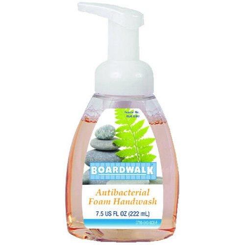 Boardwalk Foam Hand Soap, Fruity, 7.5 oz Pump Bottle, 6 per Carton