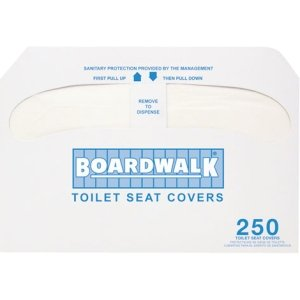 Boardwalk Premium Toilet Seat Covers, 2,500 Covers