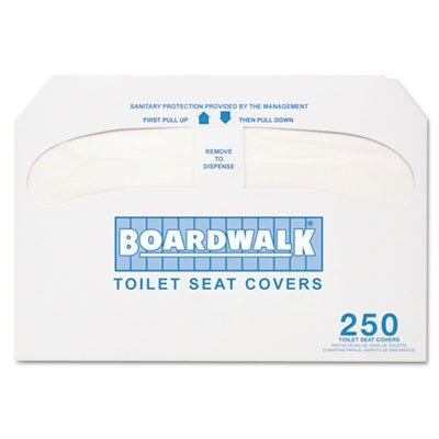 Boardwalk Premium Toilet Seat Covers, 5,000 Covers
