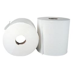 "Center-Pull Hand Towels, 2-Ply, Perforated, 7 7/8"" x 10"", 600/Roll, 6 Rolls/Ctn"