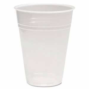 Translucent Plastic Cold Cups, 10oz, 100/Pack