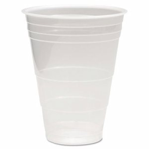 Translucent Plastic Cold Cups, 16oz, 50/Pack