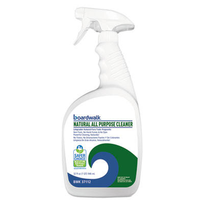 Natural All Purpose Cleaner, Unscented, 32 oz Spray Bottle, 12/Carton