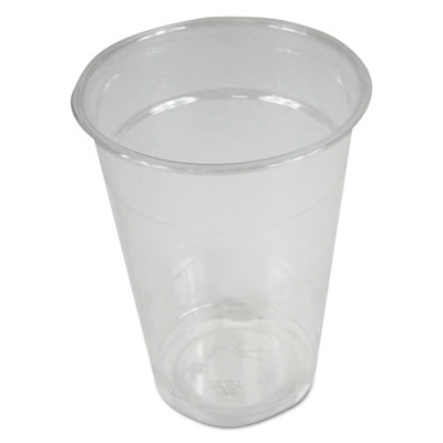 Clear Plastic Cold Cups, 9 oz, PET, 1000/Carton