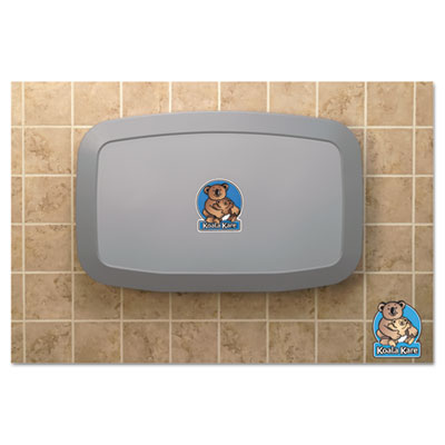 Horizontal Baby Changing Station, Gray