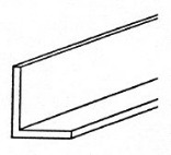 11709 1/8X1-1/2X3 FT. SOLID ANGLE