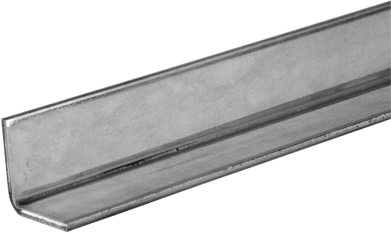 11127 1X48 IN. ZP STEEL ANGLE