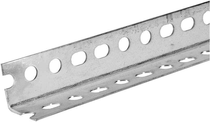 11122 1-1/2X5 FT. ZINC PLATED SLOTTED ANGLE