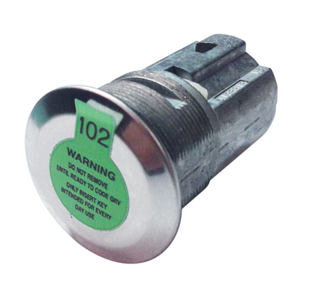 Bolt Lock Cylinder for Select GM Vehicles - Center Cut Application