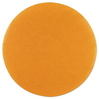 """Abrasive, 6"""" Diameter, 180 Grit, Yellow, 32/CT"""