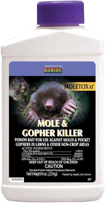 697 8OZ GOPHER-MOLE MOLATOX II