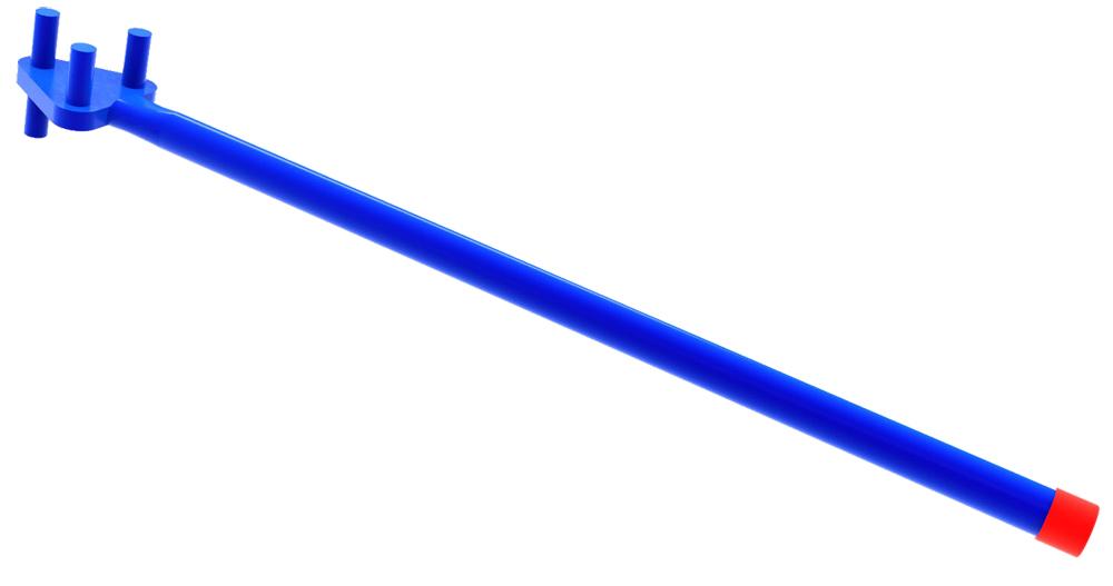 BON 12-433 REBAR BENDER - 3 PIN ONE SIDE 1 PIN OTHER