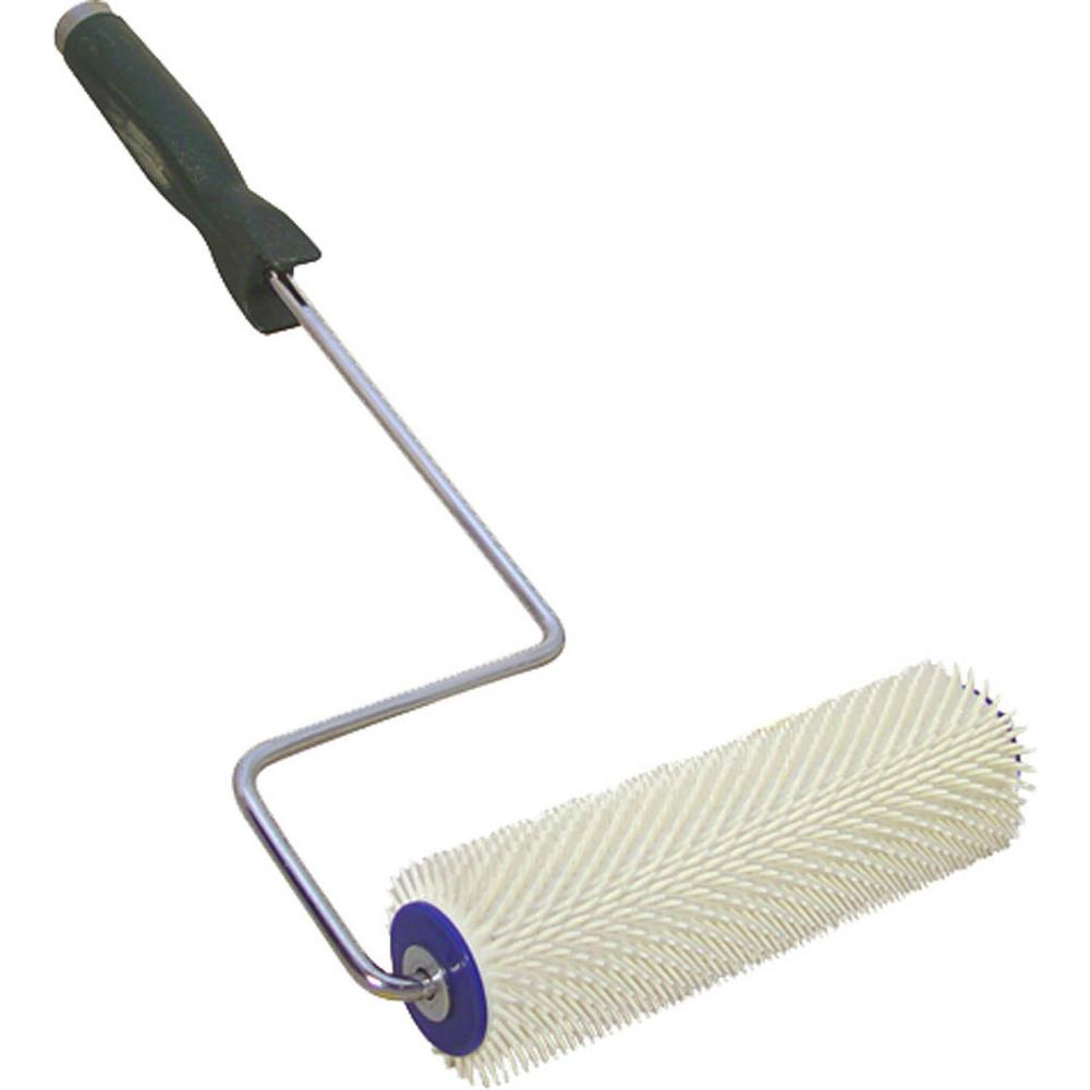 """BON 22-224 SPIKED ROLLER 7/16"""" - PLASTIC 9"""" WITH HANDLE"""
