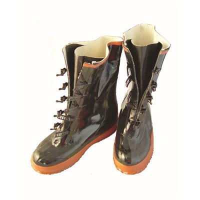 BOOTS - 5 BUCKLE - SIZE 10 (PAIR)