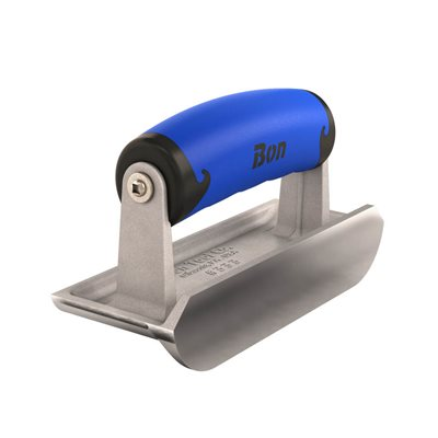 "BULLET™ EDGER - SS 6"" x 2 1/4"" - 3/16"" RADIUS x 1/2"" DEPTH COMFORT WAVE HANDLE"