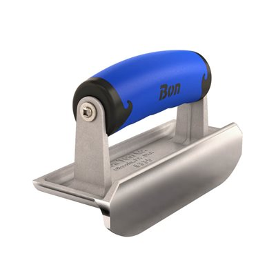 "BULLET™ EDGER - SS 6"" x 2 1/4"" - 3/16"" RADIUS x 3/4"" DEPTH COMFORT WAVE HANDLE"