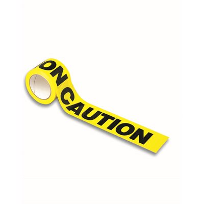 CAUTION TAPE - YELLOW 1000' x 3""