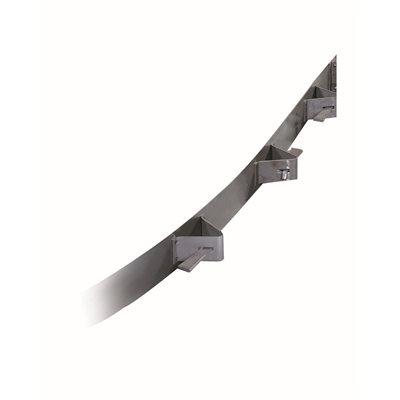 """CONCRETE FORM - FLEXIBLE STEEL - 10' x 6"""""""