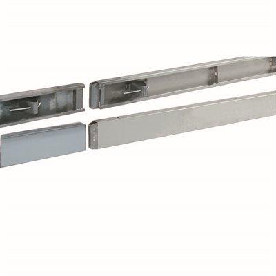 "CONCRETE FORM - STRAIGHT STEEL - 10' x 4"""