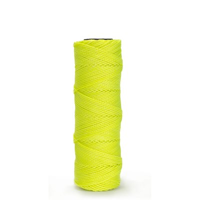 EZC BRAIDED NYLON LINE - 1000' NEON YELLOW